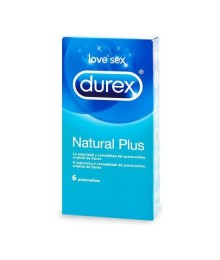 DUREX NATURAL PLUS 6 UDS