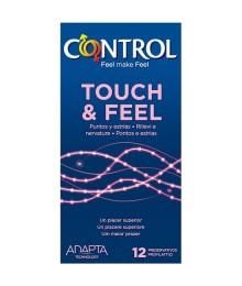 PRESERVATIVOS CONTROL TOUCH FEEL 12UDS