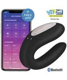 SATISFYER DOUBLE JOY CON APP NEGRO