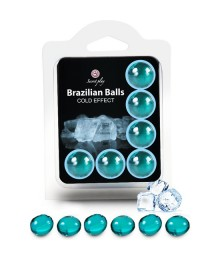 SECRET PLAY SET 6 BRAZILIAN BALLS EFECTO FRIO