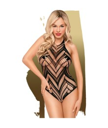 PEMTHOUSE GO HOTTER BODY CON TRANSPARENCIAS NEGRO